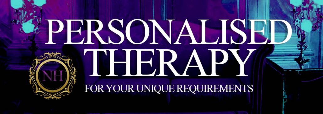Personal hypnotherapy treatment unique issues