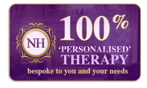 100% Personalised Therapy and Support